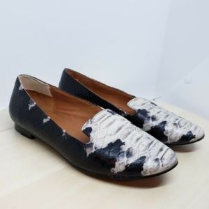 & Other Stories Slip On 36 snake smoking flats